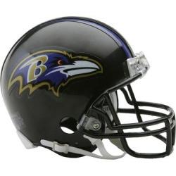 Riddell Baltimore Ravens VSR4 Mini Football Helmet found on Bargain Bro from Fanatics for USD $22.79