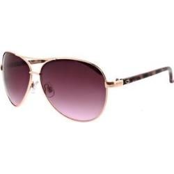 Oscar de la Renta Women's Sunglasses Shiny - Shiny Rose Goldtone Aviator Sunglasses found on MODAPINS from zulily.com for USD $16.99