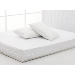 Performance Textiles Bed Bug & Dust Mite Control Water Resistant Basic Bed Protector Set (Twin) found on Bargain Bro from Overstock for USD $24.31