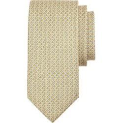Tulip & Windmill Print Silk Tie - Yellow - Ferragamo Ties found on Bargain Bro India from lyst.com for $190.00
