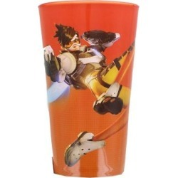 Overwatch Tracer Pint Glass - Multi found on Bargain Bro from Overstock for USD $8.35