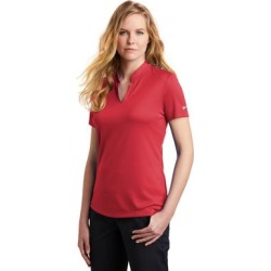 Nike Women's DRI-FIT Hex Textured V-Neck Top found on Bargain Bro from Overstock for USD $40.65