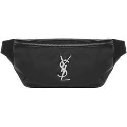 Classic Monogram Belt Bag - Black - Saint Laurent Belt Bags found on Bargain Bro from lyst.com for USD $736.44