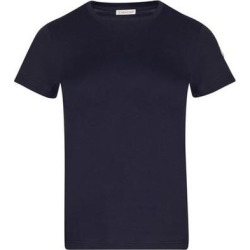 Cotton T-shirt - Blue - Moncler Tops found on Bargain Bro Philippines from lyst.com for $186.00