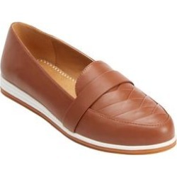 Women's The Aspen Flat by Comfortview in Cognac (Size 10 M) found on Bargain Bro Philippines from Woman Within for $55.99
