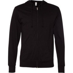 Lightweight Jersey Hooded Full-Zip T-Shirt found on Bargain Bro Philippines from Overstock for $32.54