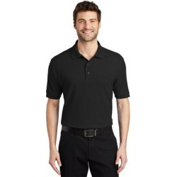 Port Authority Men's Silk Touch Wrinkle Resistance Polo found on Bargain Bro Philippines from Overstock for $29.99