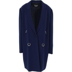 Overcoat - Blue - Boutique Moschino Coats found on MODAPINS from lyst.com for USD $750.00