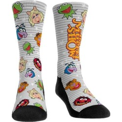 Rock Em Apparel Socks - The Muppets White & Gray Famous Faces Stripe Socks - Kids & Adult found on Bargain Bro Philippines from zulily.com for $11.99