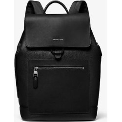 Michael Kors Hudson Pebbled Leather Backpack Black One Size found on Bargain Bro Philippines from Michael Kors for $373.50
