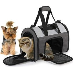 Jespet Pet Carriers Smoke - Smoke Gray Pet Sport Carrier found on Bargain Bro from zulily.com for USD $16.70