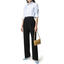 Logo-waistband Trousers - Black - MSGM Pants found on MODAPINS from lyst.com for USD $382.00