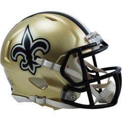 Riddell New Orleans Saints Revolution Speed Mini Football Helmet found on Bargain Bro from Fanatics for USD $22.79
