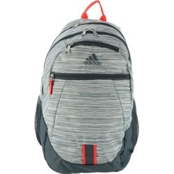 adidas Foundation V Backpack White/Solar Red/Onyx found on Bargain Bro Philippines from ShoeMall.com for $44.95