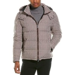 Valentino Jacket (52), Men's, Pink(polyamide, printed) found on Bargain Bro Philippines from Overstock for $879.99