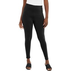 Plus Size Women's Everyday Legging by Jessica London in Black (Size 26/28) found on Bargain Bro Philippines from Ellos for $22.99
