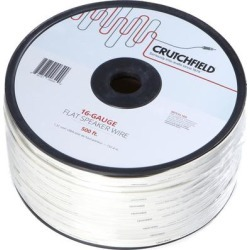 Crutchfield 16 Gauge Flat Wire 500 Foot Roll found on Bargain Bro from Crutchfield for USD $113.99