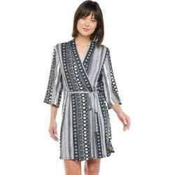 Women's Josie by Natori Wrap Robe, Size: Medium, Oxford found on Bargain Bro Philippines from Kohl's for $22.44