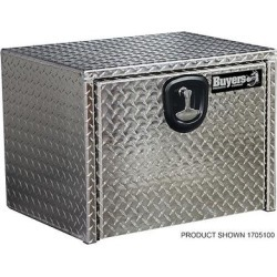 Buyers Products Underbody Truck Box, Width 18 in, Body Material Aluminum, Color Finish Diamond Plate Silver, Model 1705149 found on Bargain Bro Philippines from northerntool.com for $289.99