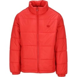 Stand Collar Puffer Jacket - Red - Adidas Originals Jackets found on Bargain Bro India from lyst.com for $104.00