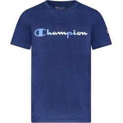 Champion Boys' Tee Shirts NAVY - Navy 'Champion' Tonal Script Tee - Boys found on Bargain Bro from zulily.com for USD $6.83