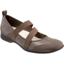 Women's Josie Flats by Trotters in Taupe (Size 7 1/2 M) found on Bargain Bro India from Woman Within for $99.99
