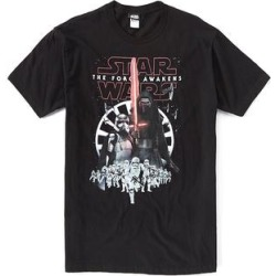 Fifth Sun Men's Tee Shirts Black - Black The Force Awakens New Menace Tee - Men found on Bargain Bro Philippines from zulily.com for $15.99