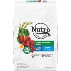 Nutro Natural Choice Lamb & Brown Rice Recipe Large Breed Puppy Dry Dog Food, 30 lbs.