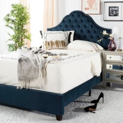Safavieh Bedding Beckham Full size bed - Navy, Blue found on Bargain Bro Philippines from Overstock for $499.79