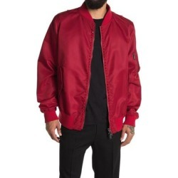 Red Bomber Jacket - Red - Valentino Jackets found on Bargain Bro India from lyst.com for $850.00