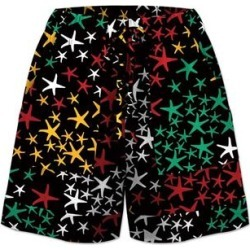 UDEAR Women's Casual Shorts Print - Black Star Tie-Waist Shorts - Women & Plus found on Bargain Bro Philippines from zulily.com for $19.99