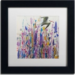 Trademark Fine Art Libre Voie Matted Framed Wall Art, White, 16X16 found on Bargain Bro Philippines from Kohl's for $99.99
