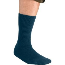 Diabetic Crew Socks by KingSize in Navy (Size XL) found on Bargain Bro Philippines from Brylane Home for $14.99