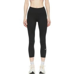 Black Epic Luxe Crop Leggings - Black - Nike Pants found on Bargain Bro from lyst.com for USD $79.80