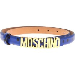 Polka Dot Pattern Belt - Blue - Moschino Belts found on Bargain Bro from lyst.com for USD $187.72
