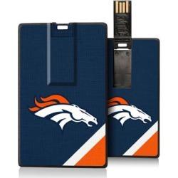 Denver Broncos Diagonal Stripe Credit Card USB Drive found on Bargain Bro from nflshop.com for USD $18.99