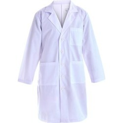 Pandamed Women's Scrubs Tops White - White Medical Lab Coat - Women found on Bargain Bro from zulily.com for USD $11.39