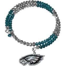 Women's Philadelphia Eagles 400 Degrees Crystal Bracelet found on Bargain Bro from nflshop.com for USD $22.79