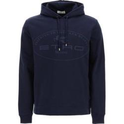 Logo Hoodie - Blue - Etro Sweats