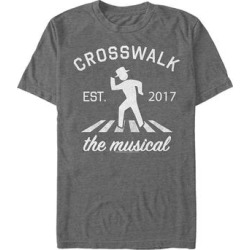 Fifth Sun Men's Tee Shirts CHAR - The Late Late Show Charcoal Heather 'Crosswalk the Musical' Collegiate Tee - Men found on Bargain Bro India from zulily.com for $15.99