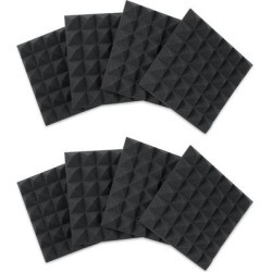Gator Framework Acoustic Treatment 8 pack Charcoal found on Bargain Bro from Crutchfield for USD $49.39