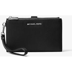 Michael Kors Adele Leather Smartphone Wallet Black One Size found on Bargain Bro Philippines from Michael Kors for $128.00