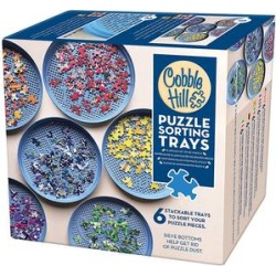 Cobble Hill Puzzles Blue - Puzzle Sorting Tray - Set of Six