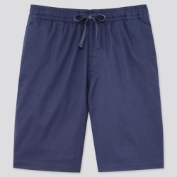 UNIQLO Men's Dry Stretch Easy Shorts, Blue, M found on Bargain Bro Philippines from Uniqlo for $19.90