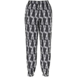 Leopard Print Straight Leg Pants - Gray - Vans Pants found on Bargain Bro from lyst.com for USD $66.12