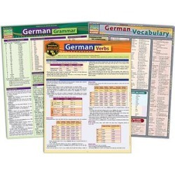 BarCharts Educational Books - German Reference Sheet Set found on Bargain Bro from zulily.com for USD $12.15