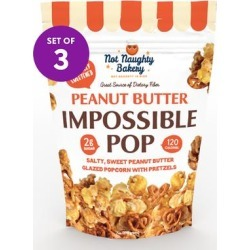 Not Naughty Bakery Popcorn - Impossible Pop Peanut Butter Popcorn Set of Three found on Bargain Bro Philippines from zulily.com for $14.99