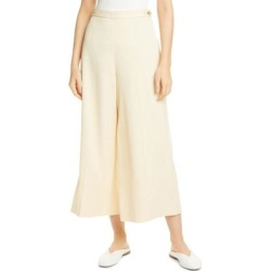 Wide Leg Culottes - Natural - Vince Pants found on Bargain Bro from lyst.com for USD $300.20
