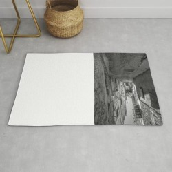 Modern Throw Rug | Caltabellotta Sicily by Maria Heyens - 2' x 3' - Society6 found on Bargain Bro India from Society6 for $34.30