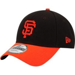 San Francisco Giants New Era League 9Forty Adjustable Hat - Black/Orange found on Bargain Bro Philippines from Fanatics for $24.99